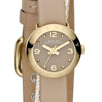 MARC BY MARC JACOBS 'Amy Dinky' Double Wrap Strap Watch, 20mm   Nordstrom