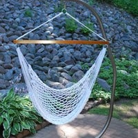 Hanging Polyester Rope Chair
