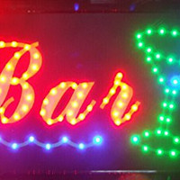 CHENXI BAR Pub Beer LED Neon Light Sign home decor