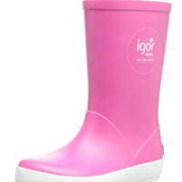 igor Girl's W10107 Splash Nautico Fuchsia Rain Boot