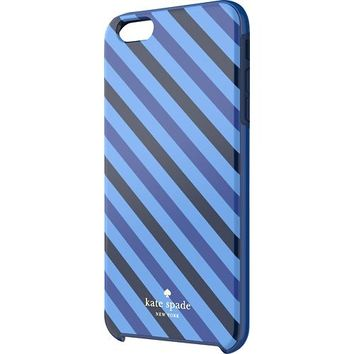kate spade new york - Diagonal Stripe Hybrid Hard Shell Case for Apple® iPhone® 6 Plus - Blue