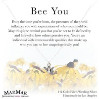 Bee You Necklace