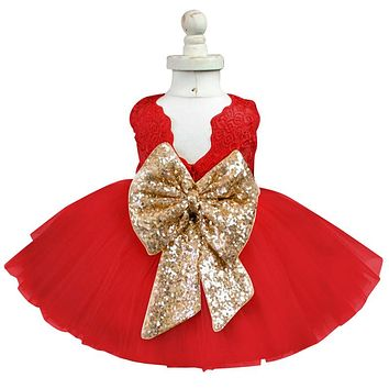 Fancy Baby Girl Dress Frock Designs Newborn 1st Birthday Party Wear Infant Lace Christening Gown Toddler Baby Outfits