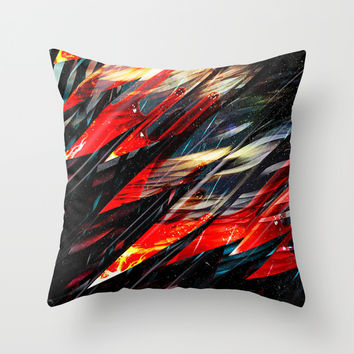 Blade runner Throw Pillow by HappyMelvin Graphicus