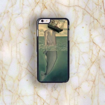 Dream colorful Dream colorful Whale Painting Plastic Case Cover for Apple iPhone 6 Plus 4 4s 5 5s 5c