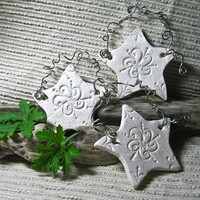 Wedding Decoration / wedding favor / Ceramic Fairy Star / Home Decor / Made to order