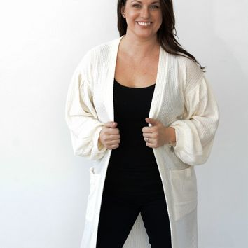 Love and Layer Open-Front Cardigan