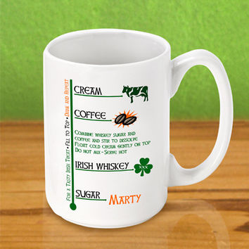 Irish Coffee Mug - Irish Coffee