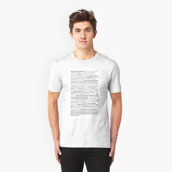 'Lotto Lyrics' T-Shirt by LaurenBennett
