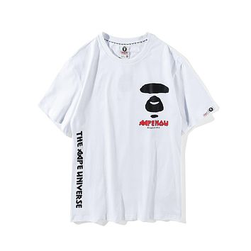 Mens Aape Fashion T-shirt #1589