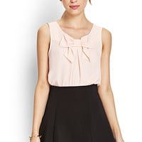 Darling Bow Chiffon Top