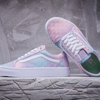 Vans Old Skool Multicolor Flat Sneakers Sport Shoes