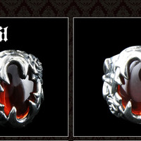 Symphony of The Vampire/Blood Crystal Ring