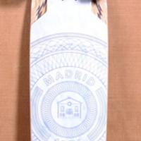 "MADRID 38.25"" CIRCLES LONGBOARD COMPLETE"