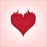 Boston Love Art Print by Robert McElaney for Ctrl Alt Design