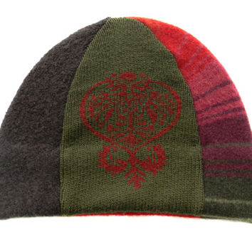 Upcycled Beanie Hat #23