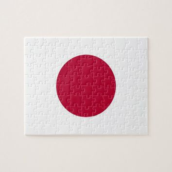Puzzle with Flag of Japan