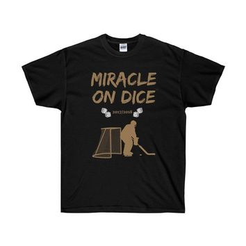 "VEGAS ""MIRACLE ON DICE""™ HOCKEY GOALIE (VARIOUS COLORS) T-SHIRT"
