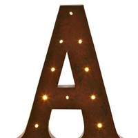 Buy Lit Alphabet Metal Wall Plaque from the Next UK online shop