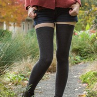 Extraordinarily Longer Thigh High