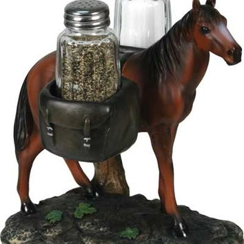 Pack Horse Salt & Pepper shakers #5156
