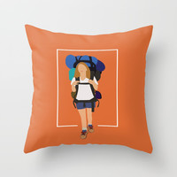 Reese Witherspoon is an American actress,Inspiring Movie Minimalist Throw Pillow by Creative Ideaz