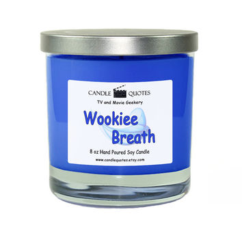 "Wookiee Breath  – All ""Stars"" Series 8 oz Scented Soy Candle"