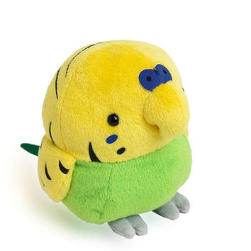 Munyu Mom Medium Cushion Type Plush Doll (Budgerigar / M size)