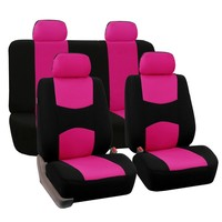 FH Group Pink Car Seat Covers for Front Low Back Buckets and Solid Bench (Full Set) | Overstock.com Shopping - The Best Deals on Car Seat Covers