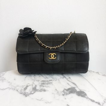 Chanel 'Camellia' Flap Bag