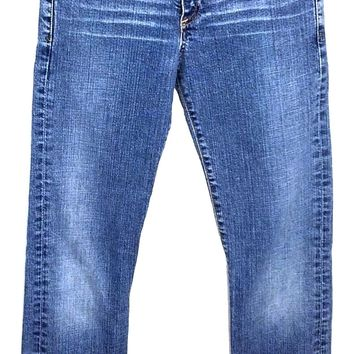 Adriano Goldschmied AG The Tramp Light Wash Boot Cut Jeans Women's 25 R 26x29 - Preowned