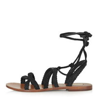 FAREWELL Gladiator Sandals - Black