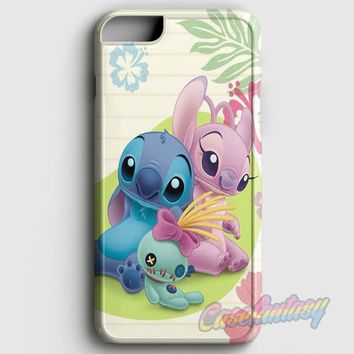 Stitch Angel Plush iPhone 6 Plus/6S Plus Case