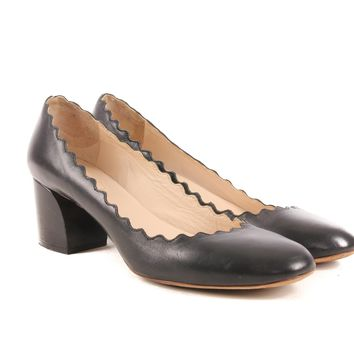 Chloe Scalloped Pumps