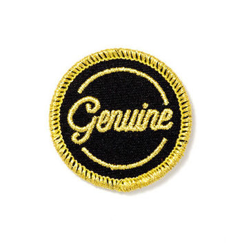 Genuine Patch
