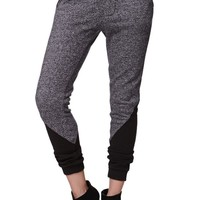 LA Hearts Paneled Jogger Pants - Womens Pants - Black
