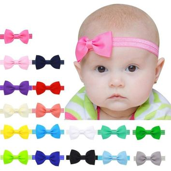 17 Colors Solid Plain Candy Colors Cute Baby Girl Child Infant Toddler Head Wraps Bandana Headband