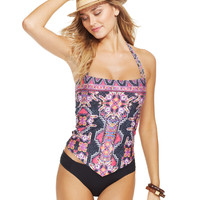Becca Bandana-Print Tankini Top & Hipster Brief Bottom