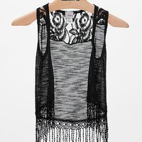 Women's Girls - Open Weave Vest