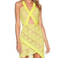 Summer In The City Dress in Lemon