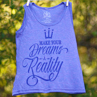 Make Your Dreams A Reality Kids' Tank Top | Jessica Holmberg Collection