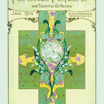American Perfumer and Essential Oil Review, January 1914 20x30 poster