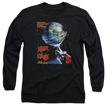Killer Klowns From Outer Space - Invaders Long Sleeve Adult 18/1