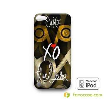 OVOXO Drake XO The Weeknd iPodTouch 4, 5 Case Cover  iPod Touch 4 5 6 Case