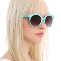 Mint Cateye Sunglasses