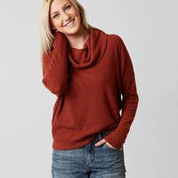 White Crow Cowl Neck Sweater - Women's Sweaters in Rust | Buckle