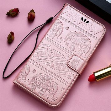 KISSCASE Case For iPhone 6 6s 5S Case Girly Flower Leather Walle f093666fad