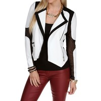 Sale- Contrast Colorblock Jacket