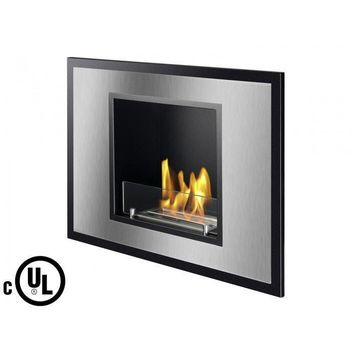 "Ignis Vienna - 32"" UL Listed Built-in/Wall Mounted Ethanol Fireplace (WMF-106-UL)"