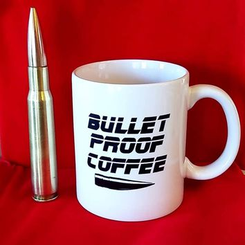 "Brass Honcho Coffee Mug ""Bullet Proof Coffee"""